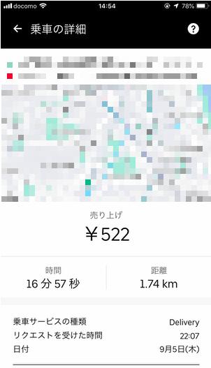 Uber Eats配達パートナーバイト初日の記録